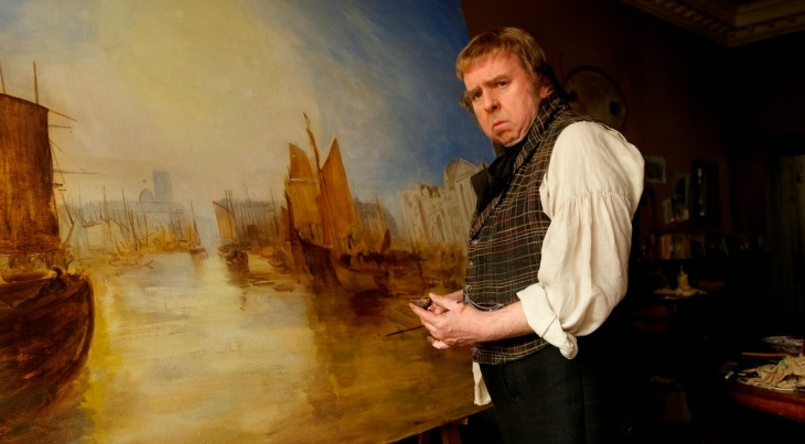 Director Mike Leigh's Mr. Turner, featuring Timothy Spall