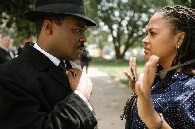 Ava DuVernay directing Selma