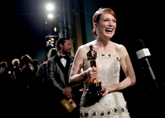Julianne Moore wins Best Actress