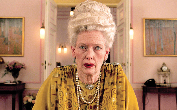 Tilda Swinton in The Grand Budapest Hotel