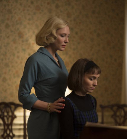 Blanchett and Mara - Carol