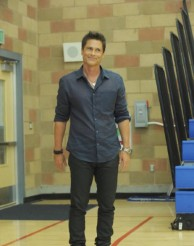 "Rob Lowe in ""The Grinder"""