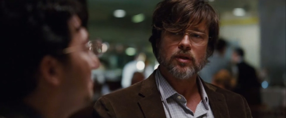 Screen grab of youtube video 'The Big Short Trailer (2015) ? Paramount Pictures' Web to Watch - Greed is not so good in the first trailer for The Big Short. Based on Michael Lewis's best-selling book, the movie stars Ryan Gosling, Christian Bale, Brad Pitt and Steve Carell as four outsiders who make a big bet against the banks and the American economy. The movie, directed by Adam McKay, is set for a wide release on Dec. 23. youtube.com/Paramount [Via MerlinFTP Drop]