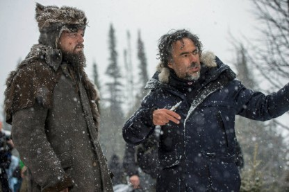 Alejandro G. Iñárritu directing The Revenant