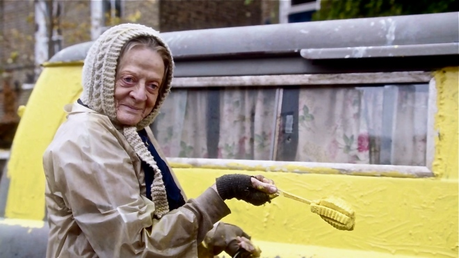 Lady in the van 1