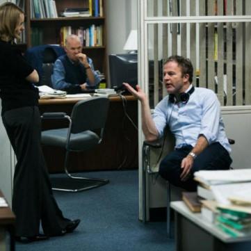 Tom McCarthy directing Spotlight