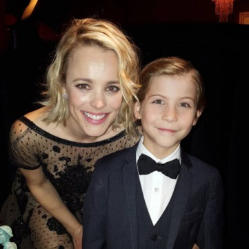 Jacob Tremblay and Rachael McAdams