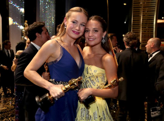 Larson and Vikander