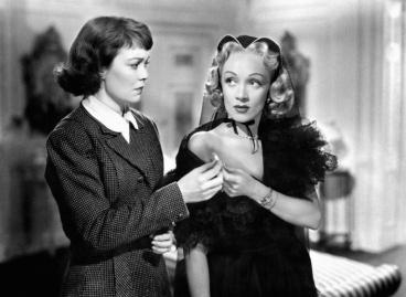 Jane Wyman, Marlene Dietrich