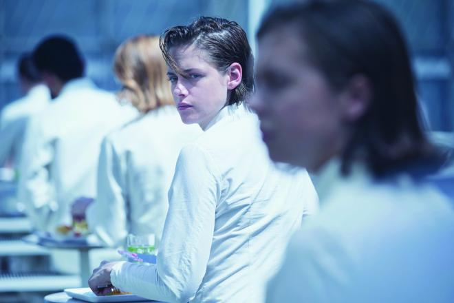 Kristen Stewart as Nia in the film EQUALS. Photo courtesy of A24.