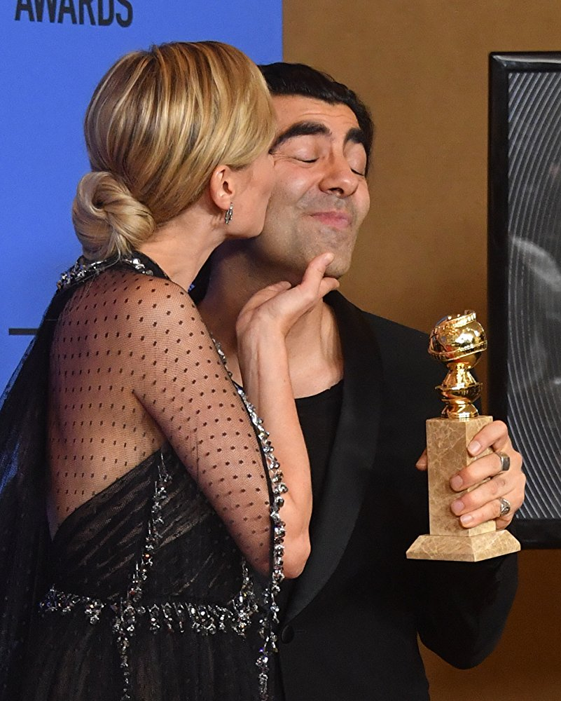 Fatih Akin and Diane Kruger In the Fade - Globes