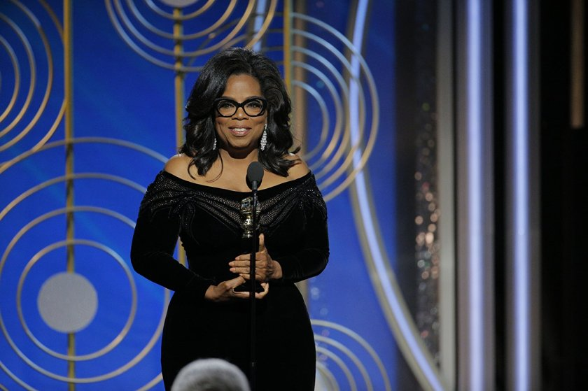 Oprah - Globes