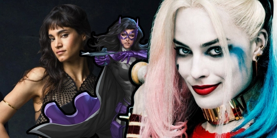 Margot-Robbie-as-Harley-Quinn-with-Sofia-Boutella-as-Huntress-in-Birds-of-Prey